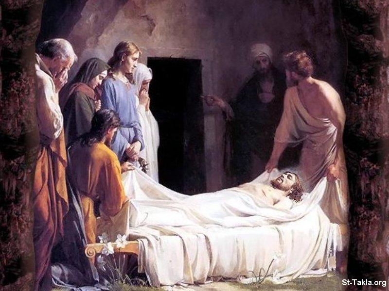 صور من حياة المسيح يارب تعجبكم Www-St-Takla-org___Jesus-Enshroud-11
