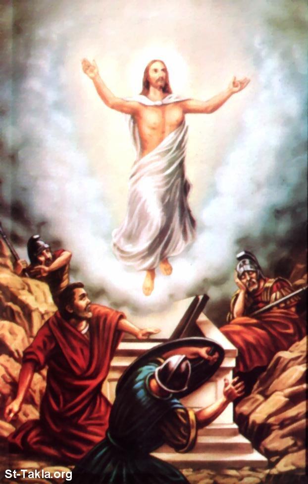 صور من حياة المسيح يارب تعجبكم Www-St-Takla-org___Jesus-Resurrection-08