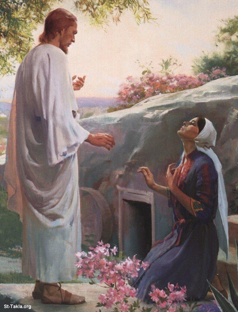 صور من حياة المسيح يارب تعجبكم Www-St-Takla-org___Jesus-After-Resurrection-02