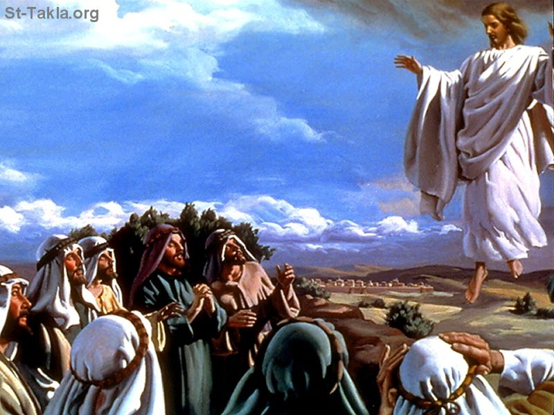 صور من حياة المسيح يارب تعجبكم Www-St-Takla-org___Jesus-Ascention-07