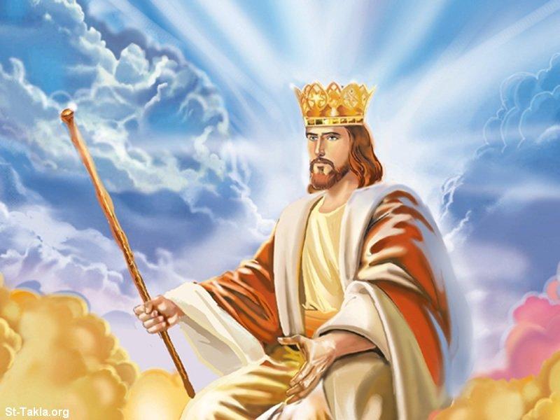 صور من حياة المسيح يارب تعجبكم Www-St-Takla-org___Jesus-Second-Coming-Advent-01