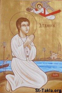 صور للشهيد ابانوب St-Takla-org_Coptic-Saints_Saint-Abanoub-02