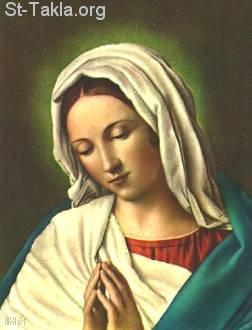 الصوم وتكريم العذراء مريم Www-St-Takla-org__Saint-Mary_Face-16