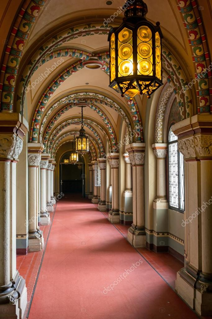 Passageway To The Princesses Chambers Depositphotos_50458613-stock-photo-interior-of-the-neuschwanstein-castle
