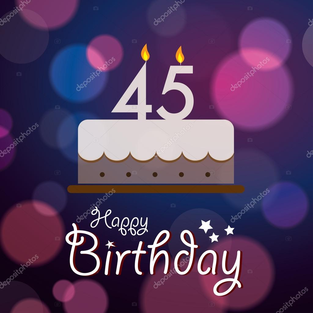 Hola a todos!!! Estoy en búsqueda de un sueño... Depositphotos_51192139-Happy-45th-birthday-bokeh-vector