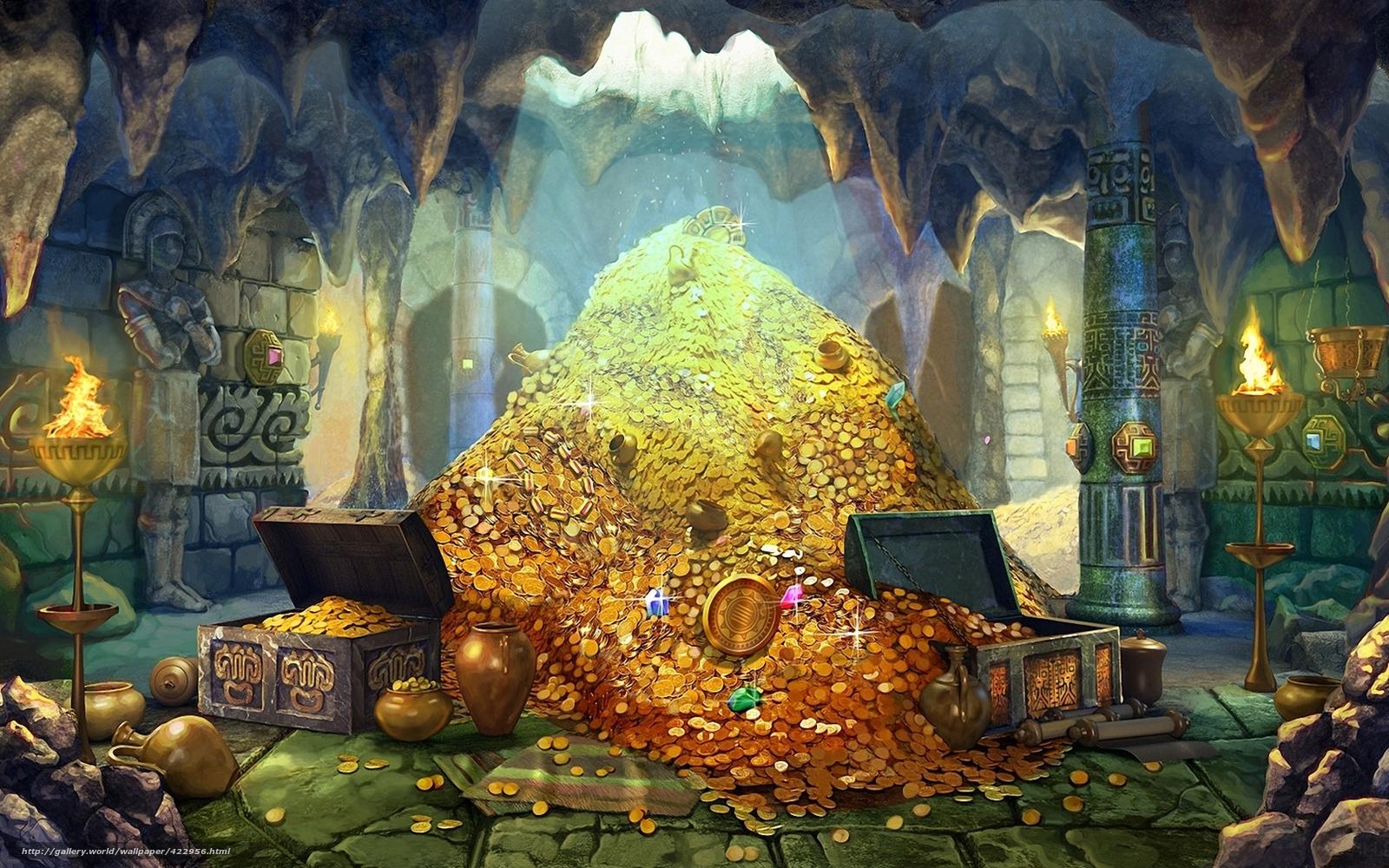 Aladino e la lampada meravigliosa 422956_art_sokrovishha_zoloto_ukrasheniya_monety_sunduki__1680x1050_www.Gde-Fon.com