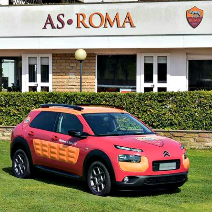 [ACTUALITE] Citroën/DS et le football - Page 6 Citroen_C4_Cactus_AS_Roma