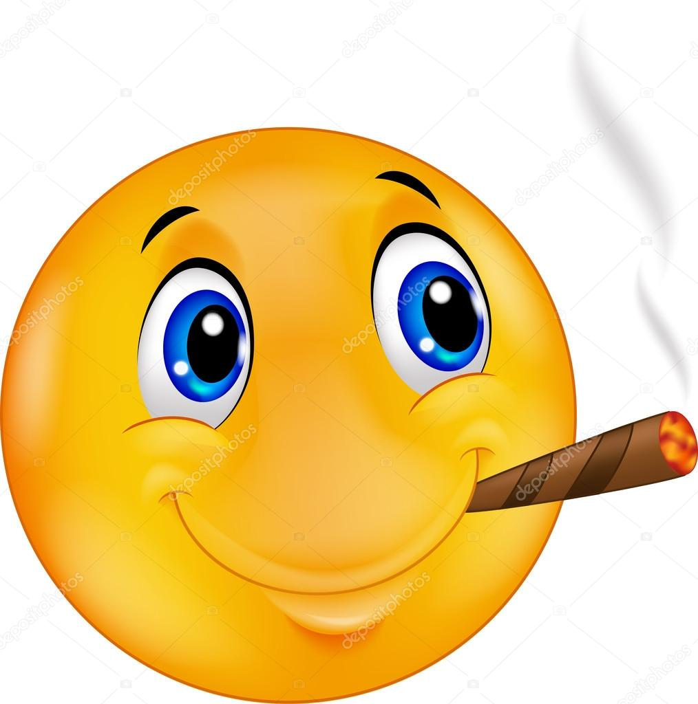 Pensando...... - Página 20 Depositphotos_63473645-Cartoon-emoticon-smiley-smoking-cigar