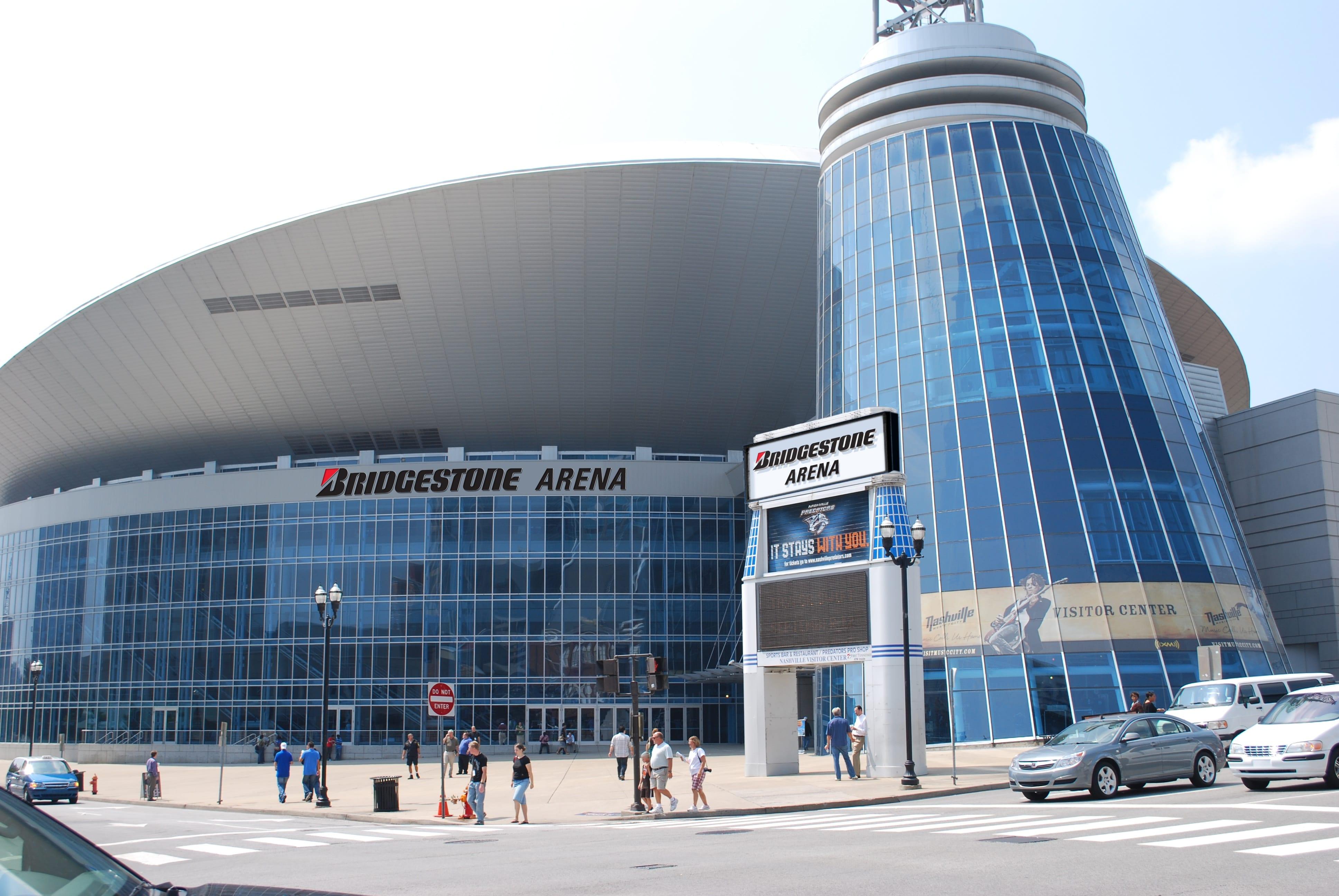 Bridgestone Arena, Nashville, TN, USA Bridgestone-arena-venue