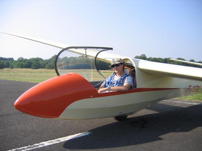 Stage Aéro JA 2010 : vol à voile, ulm, avion Romo038