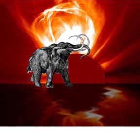 Galactic Cosmic Ray Volleys: A Coming Global Disaster Mammoth-flare-2