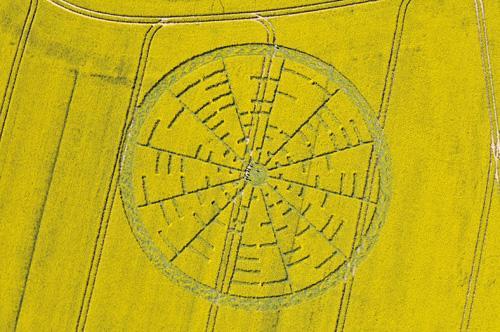 El Crop Circle de Willton Windmill de 22 de Mayo, desconcierta a todos los científicos del mundo.... Cropcircle