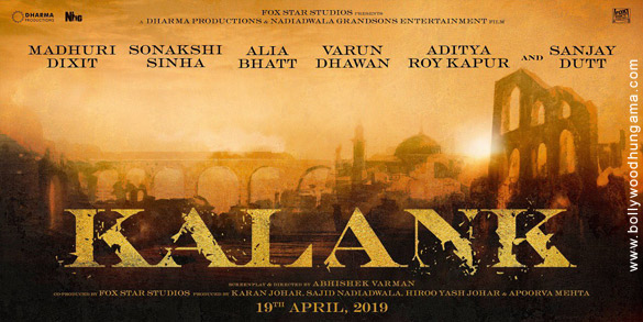 KALANK (2019) con VARUN DHAWAN + Sub. Español Kalank
