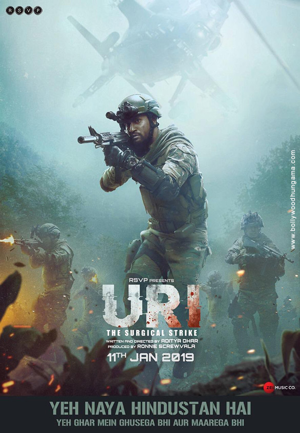 URI: The Surgical Strike (2019) con VICKY KAUSHAL + Jukebox + Sub. Español Uri-005