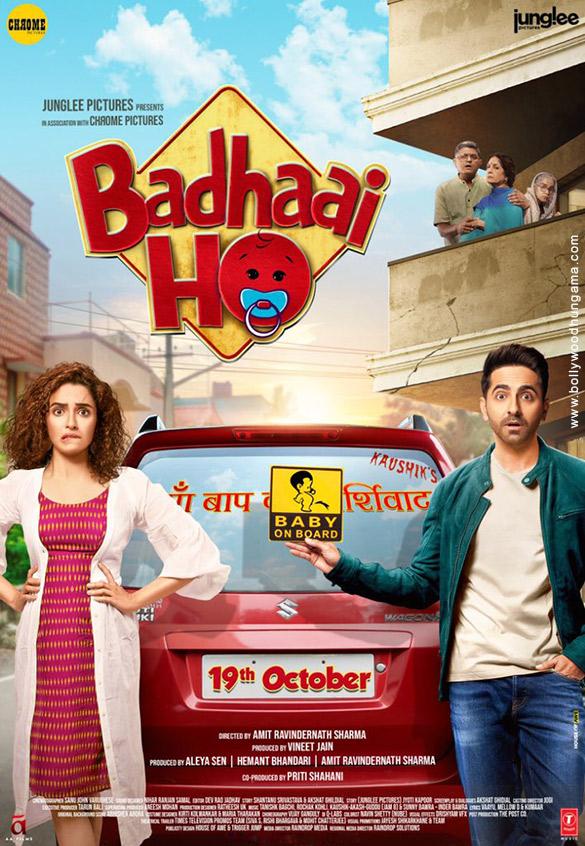 BADHAAI - BADHAAI HO (2018) con Ayushmann Khurrana + Jukebox + Online Español Badhaai-Ho