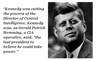 """A Monolithic and Ruthless Conspiracy"" JfkCia"
