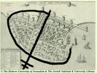 Méreau des évèques de Saint Jean d'Acre , orient latin 52e636b95a817