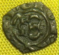 Féodale à voir , Denier sicilien de Messine pour Manfred (1258-1266 ) 536c0e0e1bdf2