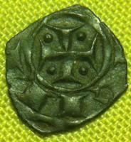 Féodale à voir , Denier sicilien de Messine pour Manfred (1258-1266 ) 536c0e244b4d4