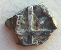 Drachme avec une croix . 53d95170beff6