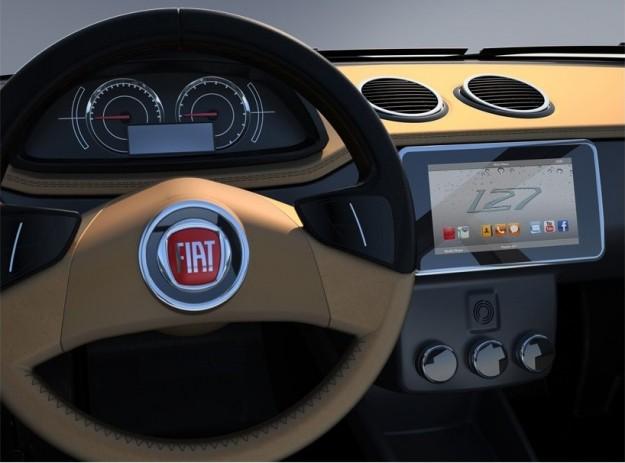 Fiat 127 nueva edición Volante-fiat