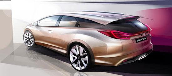 2013 - [Honda] Civic Tourer Honda-Civic-Wagon-Concept