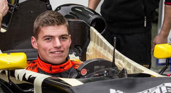 Topic Silly Season 2015 en Formule de Promotion. Max-Verstappen-seat-fitting