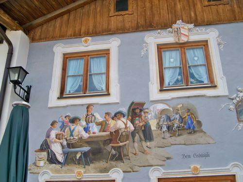 Maisons peintes en Allemagne Artfichier_263507_1288402_201210084435509