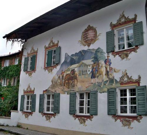 Maisons peintes en Allemagne Artfichier_263507_1288442_201210085249806