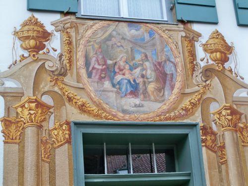 Maisons peintes en Allemagne Artfichier_263507_1288453_201210085532357