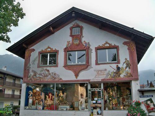 Maisons peintes en Allemagne Artfichier_263507_1288461_201210085818923