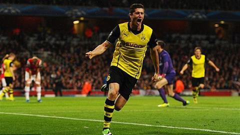 Goals & Highlights Arsenal 1-2 Dortmund (22/10/2013) Lewanok