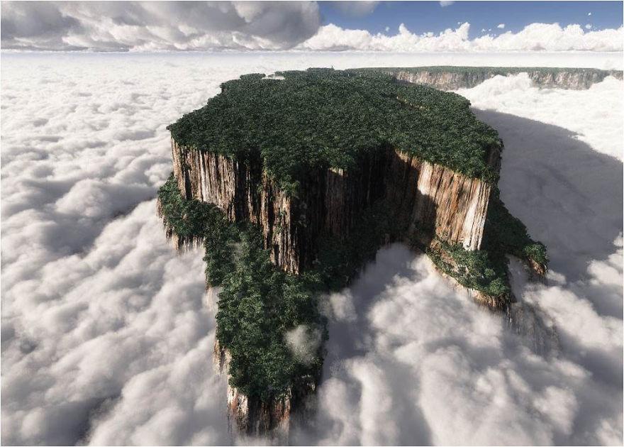 30 lieux incroyables semblant provenir d'une autre planète Roraima__880