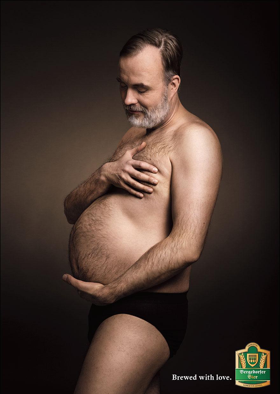 Kuidas näeb välja rase transmees? Bergedorfer-funny-beer-ad-pregnant-men-maternity-brewed-with-love-jung-von-matt-1