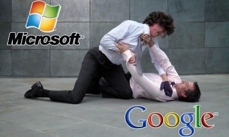 Google acusa Bing de copiar os resultados das suas buscas Bing-vs-google