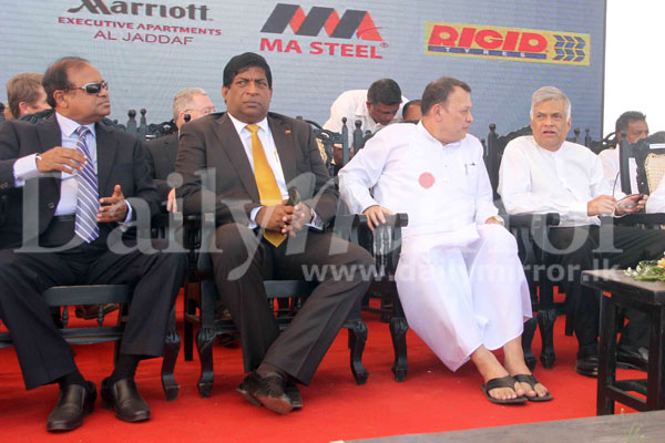 Mahinda's billions invested in Horana MARA-goni Tyre factory Image_1483679510-d9339aff62