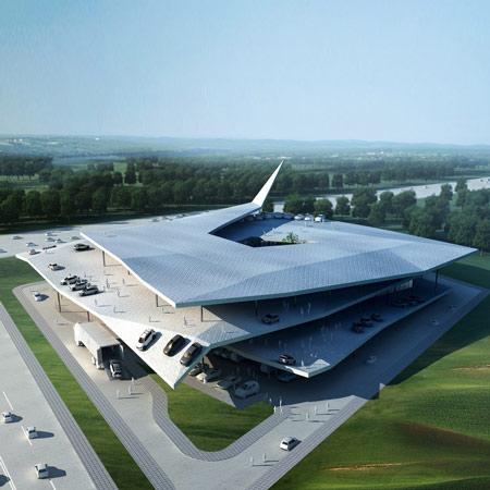 Arhitektura Dzn_Automobile-museum-by-Gatti-Architecture-Studio-1