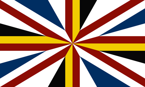 The Elephant in the Room Alternative-designs-proposed-for-the-union-jack-flag-without-Scotland-_dezeen_1