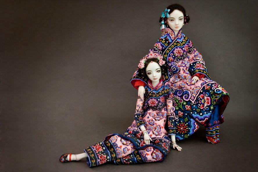 Фарфоровые куклы Марины Бычковой 72762481
