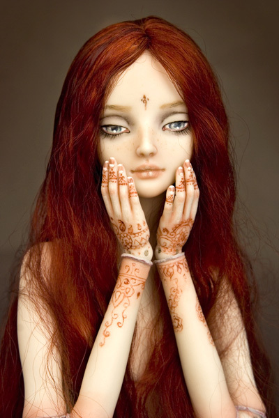 Фарфоровые куклы Марины Бычковой 72762599