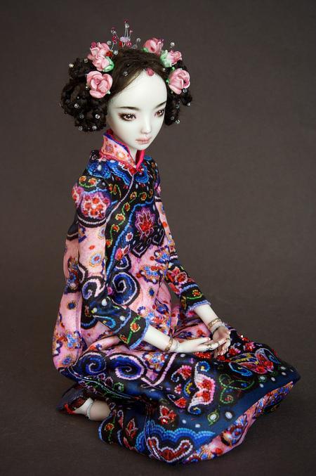 Фарфоровые куклы Марины Бычковой 72762616