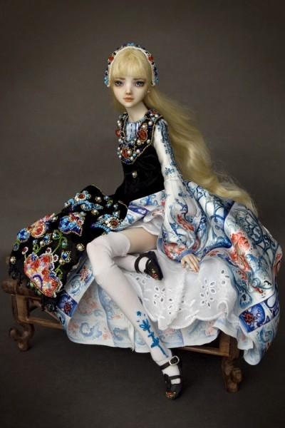 Фарфоровые куклы Марины Бычковой 72762642