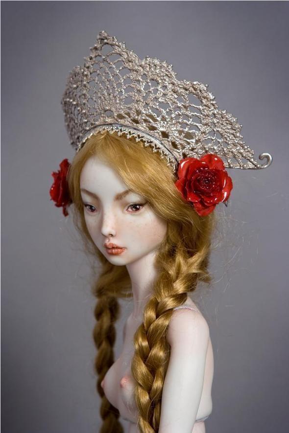 Фарфоровые куклы Марины Бычковой 72762698
