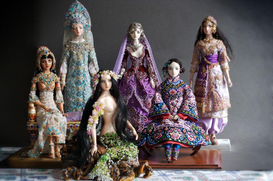 Фарфоровые куклы Марины Бычковой 72762806