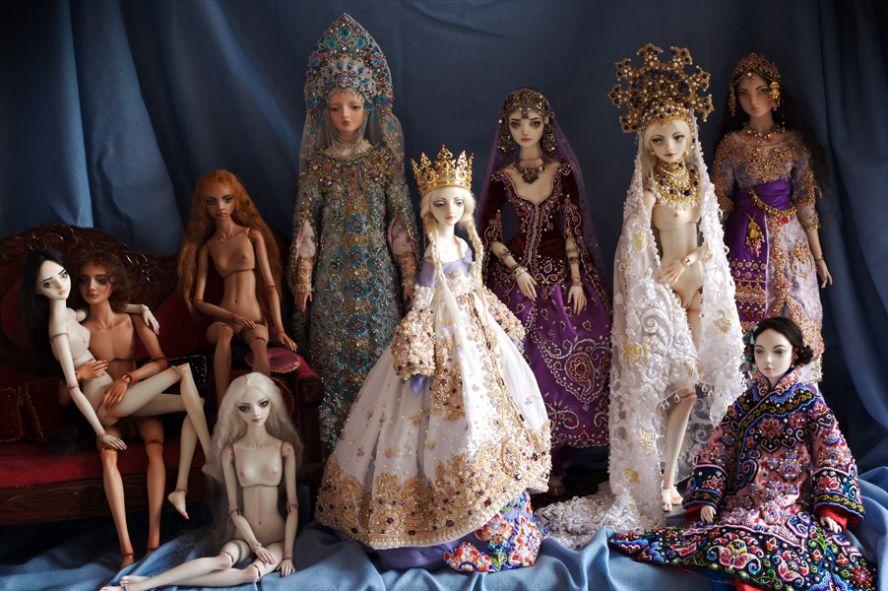 Фарфоровые куклы Марины Бычковой 72762819