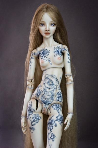 Фарфоровые куклы Марины Бычковой 72762927