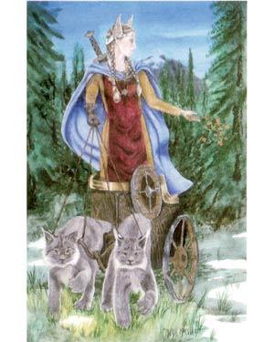 Фрея - скандинавская богиня 81950527