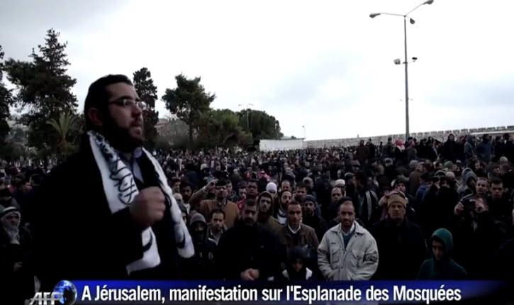 Proche-Orient - Page 40 Manifestation-anti-fran%C3%A7ais-%C3%A0-J%C3%A9rusalem