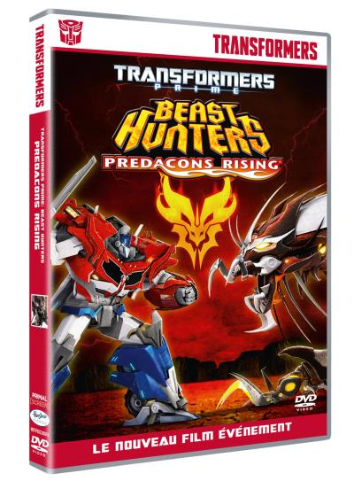DVD en français de Transformers Prime en France (Région 2, Europe) 1507-1