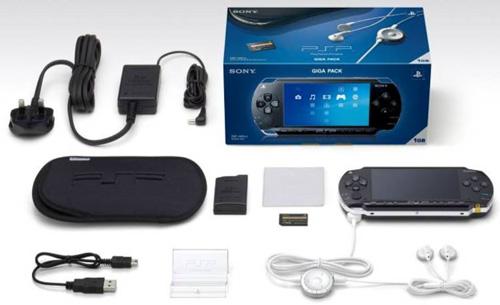 Estim PSP GIGA PACK complet  Console-Sony-PSP-Giga-Pack
